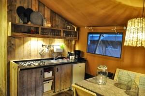 Keuken woody safaritent